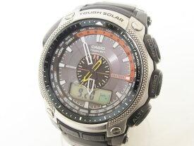 CASIO カシオ PROTREK プロトレック タフソーラー 電波 腕時計 メンズウォッチ PRW-5000 美品【中古】