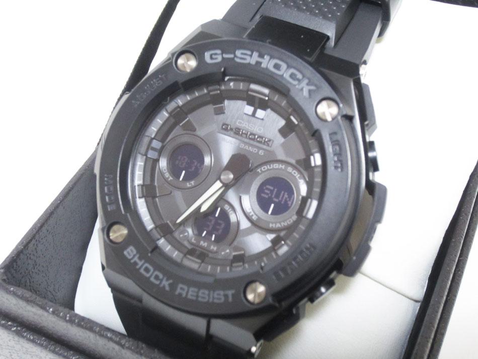 CASIO カシオ G-STEEL Gスチール 電波ソーラー メンズウォッチ 腕時計 タフソーラー GST-W300G-1A1JF 新品【中古】