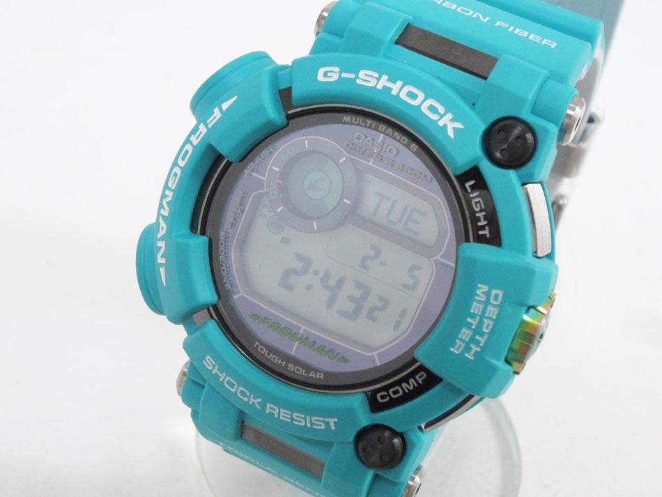 CASIO カシオ G-SHOCK Gショック FROGMAN フロッグマン Master in Marin Blue マスターインマリンブルー メンズウォッチ 腕時計 タフソーラー GWF-D1000MB-3JF 新品 【中古】