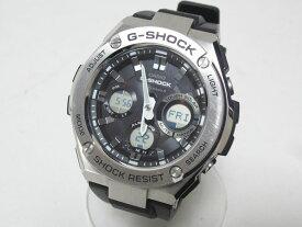 CASIO カシオ G-STEEL Gスチール 電波ソーラー メンズウォッチ 腕時計 タフソーラー GST-W110-1AJF 美品【中古】