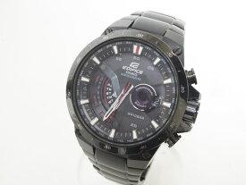 CASIO カシオ EDIFICE エディフィス 腕時計 メンズウォッチ 電波ソーラー ブラック EQW-A1000DC-1AJF【中古】