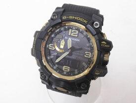CASIO カシオ MUDMASTER マッドマスター タフソーラー 電波 腕時計 メンズウォッチ ゴールド GWG-1000GB-1AJF 美品【中古】