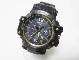 CASIO カシオ G-SHOCK Gショック 腕時計 マスターオブG グラビティマスター GPSハイブリッド 電波 ゴールド GPW-1000FC-1A9JF 【中古】