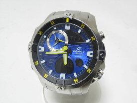 CASIO カシオ EDIFICE エディフィス 腕時計 メンズウォッチ クォーツ アドバンスマリン ブルー 海外逆輸入 EMA-100D-2AVUDF【中古】