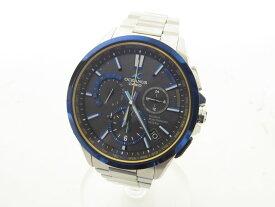 CASIO カシオ OCEANUS オシアナス フルメタルGPSハイブリット電波ソーラー メンズウォッチ 腕時計 OCW-G1100TG-1AJF【中古】