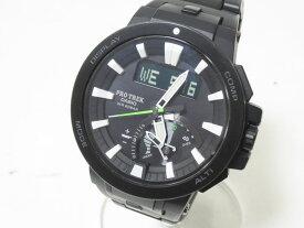 CASIO カシオ PROTREK プロトレック 電波ソーラー メンズウォッチ 腕時計 タフソーラー PRW-7000FC-1JF 美品【中古】