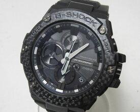 CASIO カシオ G-STEEL Gスチール Bluetooth 搭載 タフネスクロノグラフ メンズウォッチ 腕時計 タフソーラー GST-B100X-1AJF 美品【中古】