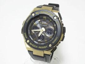 CASIO カシオ G-STEEL Gスチール 電波ソーラー メンズウォッチ 腕時計 タフソーラー ミドルサイズ GST-W300G-1A9JF 美品【中古】