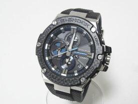 CASIO カシオ G-STEEL Gスチール Bluetooth 搭載 タフネスクロノグラフ メンズウォッチ 腕時計 タフソーラー GST-B100XA-1AJF 美品【中古】
