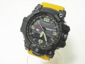 CASIO カシオ MUDMASTER マッドマスター タフソーラー 電波 腕時計 メンズウォッチ イエロー GWG-1000-1A9JF 美品 【中古】