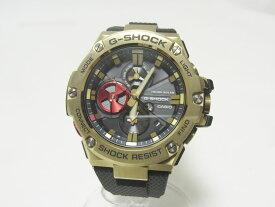 CASIO カシオ G-STEEL Gスチール 八村塁モデル Bluetooth 搭載 タフネスクロノグラフ メンズウォッチ 腕時計 タフソーラー GST-B100RH-1AJR 新品同様【中古】
