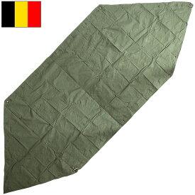 sale ベルギー軍 テントセット オリーブ USED シェルターハーフテント パップテント ポンチョ グリーン