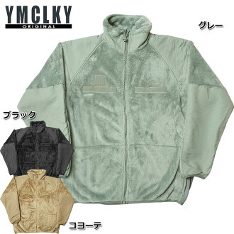 YMCLKY 오리지날 미군 유형 GEN3 L3 양 털 재킷