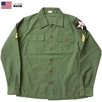 美軍型OG-107大音階第四音蒂格襯衫長袖子喬恩倫農Model