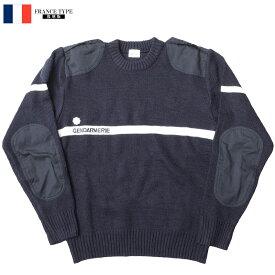 YMCLKYオリジナル フランスタイプ 国家憲兵隊 ラインセーター ネイビー JW039NN【TKA】