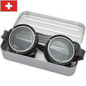 sale スイス軍 1970 タンカーゴーグル アルミケース付き デッドストック