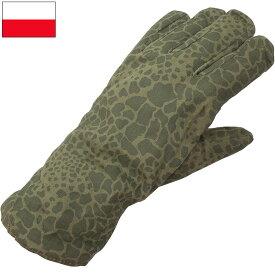 ポーランド軍 ウインターグローブ PUMAカモ デッドストック GG052NN
