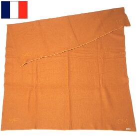 sale フランス軍 ウールブランケット オレンジ USED EE622UN 毛布