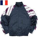 フランス軍ミリタリースクールジムジャケットネイビータイプ2USEDJJ288UN実物軍モノ軍物スポーツトレーニングウェアランニングジャージ