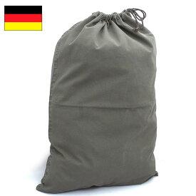 1点ならメール便可 ドイツ軍 コットン ランドリーバッグ オリーブ USED