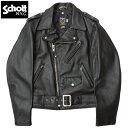 sale Schott #7007 SCH-613US VINT ONESTAR ライダース レザージャケット ワンスター メンズ 09ブラック 34-44