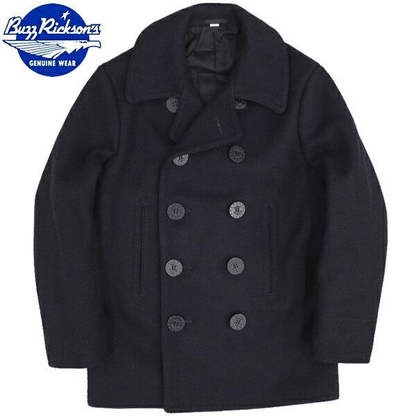 ノベルティープレゼント BUZZ RICKSON'S BR11554 PEA COAT NAVAL CLOTHING FACTORY 1910's MODEL 【送料無料・沖縄・離島除く】