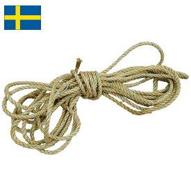 スウェーデン軍 ロープ リネン USED