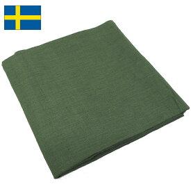 sale 1点ならメール便可 スウェーデン軍 ミリタリー コットンスカーフ オリーブ 新品 ミリタリーアイテム