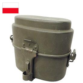 ポーランド軍 M70アルミ飯盒 USED EE663UN