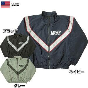 米軍タイプ ARMY IPFUジャケット ジャージジャケット JJ198YNメンズ ミリタリージャケット ナイロンジャケット アーミー 長袖 トレーニングウェア スポーツウェア ウィンドブレーカー レプリカ