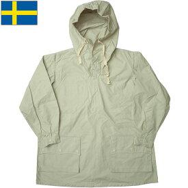 ノベルティープレゼント スウェーデン軍 M39 スノーカモ アノラックパーカー グレー デッドストック