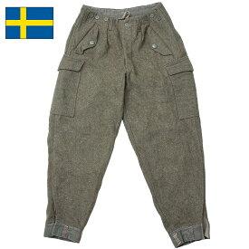 スウェーデン軍 M-39 ウールパンツ カーゴパンツ USED