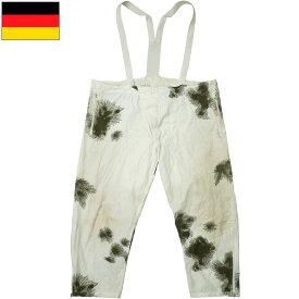 ドイツ軍 スノーカモパンツ USED
