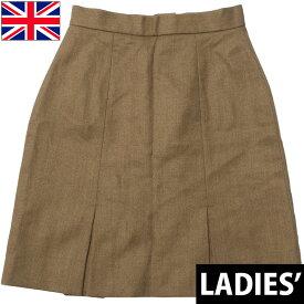 sale イギリス軍 ドレススカート ブラウン USED
