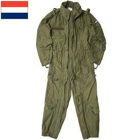 オランダ軍 アラミド タンカーカバーオール オリーブ デッドストック CC043NN CVC ツナギ 難熱性素材