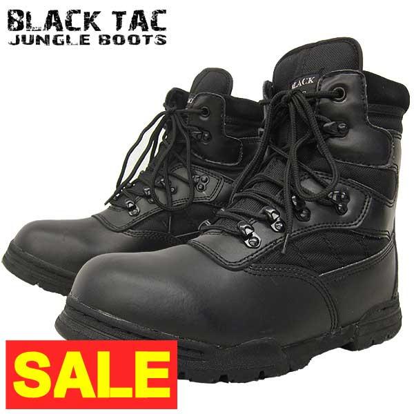 WEBプライス・米軍レプリカ BLACK TAC #TY8004 タクティカルブーツ ブラック色 国内基本送料無料(沖縄・離島は送料一部追加) 本格派ミリタリーブーツの決定版 【ミリタリー系 ワークブーツ】