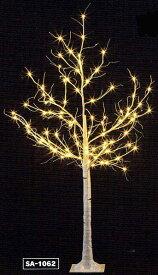 LEDホワイトブランチツリー180cm