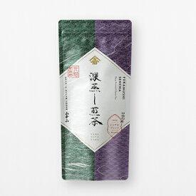 <山本山>深蒸し煎茶 100gFM-R◆家庭用| お茶 茶葉 日本茶 煎茶 ブレンド 緑茶 飲みやすい| 老舗 東京 日本橋 | ご自宅用 業務用