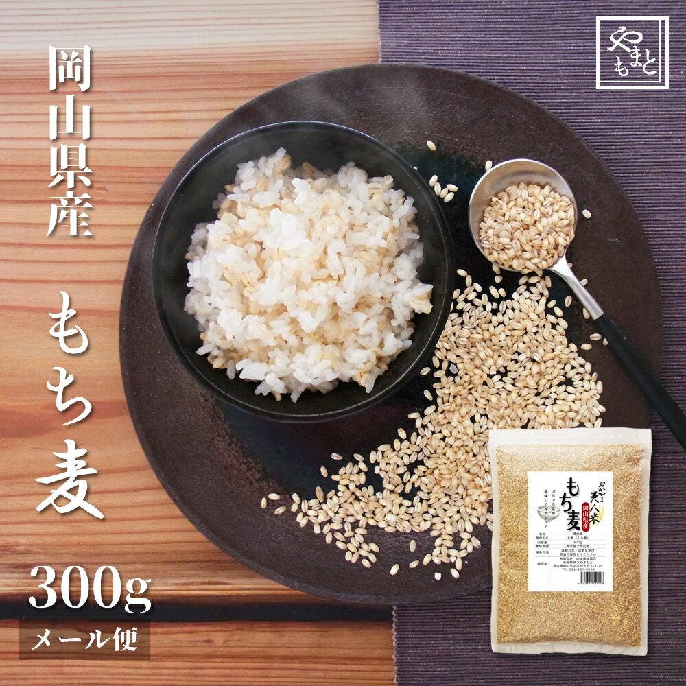 もち麦 送料無料 おすすめ お試し ポイント消化 ぽっきり 30年度 新麦 岡山県産100%キラリモチ麦300g 国産 安い ダイエット健康美容