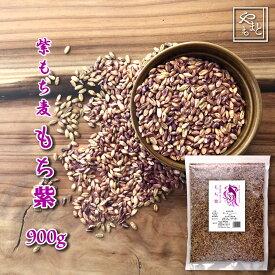 紫もち麦 令和2年 岡山県産ダイシモチ900g 送料無料 安い お試し おすすめ ポイント消化 ぽっきり ダイエット健康美容 メール便