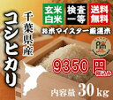 新米28年千葉コシヒカリ玄米30kg【精米無料】【玄米30kg精米27kg】【送料無料※一部地域を除く】