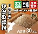 新米28年千葉ひとめぼれ玄米30kg【精米無料】【玄米30kg精米27kg】【送料無料※一部地域を除く】