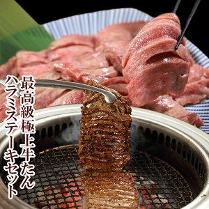 最高級 極上 牛たん 500g ハラミステーキ 1kg 厚切り たん元 スライス 切り目入り やわらか 冷凍 高級 肉プレゼント 宮城 仙台 お土産 おすすめ 1キロ 味付き 焼肉 焼き肉 ステーキ 送料無料