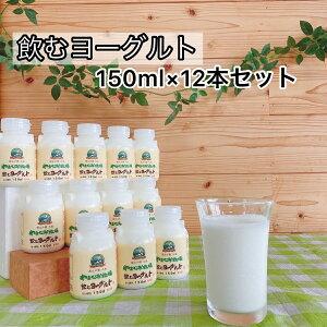 飲むヨーグルト 150ml × 12本 セット ギフト 送料無料 プレゼント まろやか 濃厚 乳製品 美味しい 無添加 ヨーグルトドリンク 飲み物 ヨーグルト 乳酸菌飲料 ドリンク おいしい プレゼント ギ