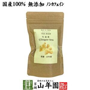 【国産100%】生姜茶 ジンジャーティー 2g×12パック 生姜100% 熊本県産 送料無料 無添加 ノンカフェイン ショウガ茶 しょうが茶 ギフト プレゼント 父の日 お中元 プチギフト お茶 2021 内祝い お