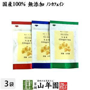 【国産100%】生姜茶 ジンジャーティー 2g×5パック×3袋セット 生姜100% 熊本県産 送料無料 無添加 ノンカフェイン ショウガ茶 しょうが茶 ギフト プレゼント 母の日 父の日 プチギフト お茶 2020