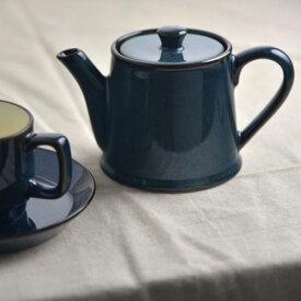 北欧ブルー ティーポット(ST型)[茶こし付き66][H68]