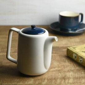 北欧ブルー 深ブルー 切立ちティーポット スーニャ型[茶こし付き56.5h][H68]