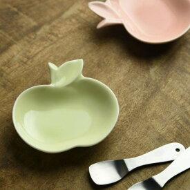 深山 apple りんご豆小皿 ヒワ/green