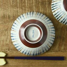 刷毛巻十草 丸型毛料(14.5cm) ブルー